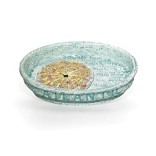 Popular Bath Soap Dish, Atlantic Collection, Aqua