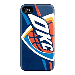 Shockproof Hard Phone Covers For Iphone 6plus (npc4864AUeu) Support Personal Customs Vivid Oklahoma City Thunder Pictures