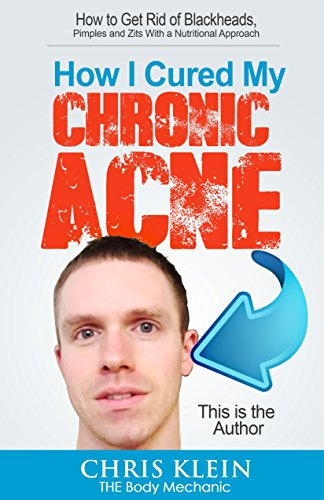 How Cured Chronic Acne Nutritional ebook product image