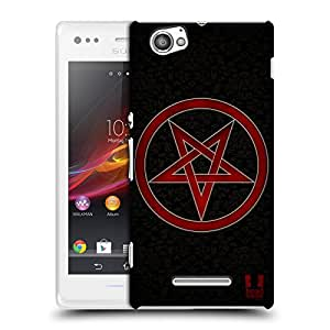 Head Case Designs Circle of Protection Symbolism Protective Snap-on Hard Back Case Cover for Sony Xperia M C1905 C1904