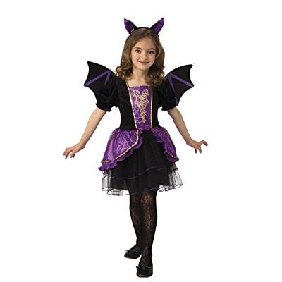 Rubie's Costume Pretty Bat Girls Child Halloween Creature Costume: Toys & Games