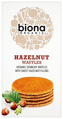 Biona Organic - Waffles - Hazelnut - 175g (Case of 12)
