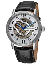 Stuhrling Original Men's 107BG.33152 Othello Classic Automatic Silver Tone Dial Watch