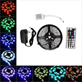 ANNT LED Flexible Strip Lights 16.4ft 300leds 5m Waterproof Adhesive Light ...