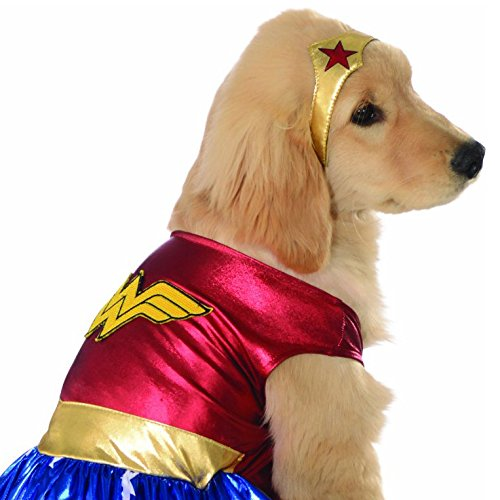 Rubie's DC Comics Pet Costume, Large, Wonder Woman by Rubie's (Image #2)