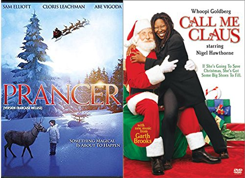 Call Me Clause & Prancer the Reindeer Double Feature DVD Bundle Holiday Collection