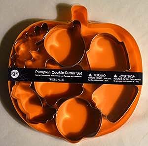 Pumpkin Cookie Cutter Set - 7 Pieces by Walmart