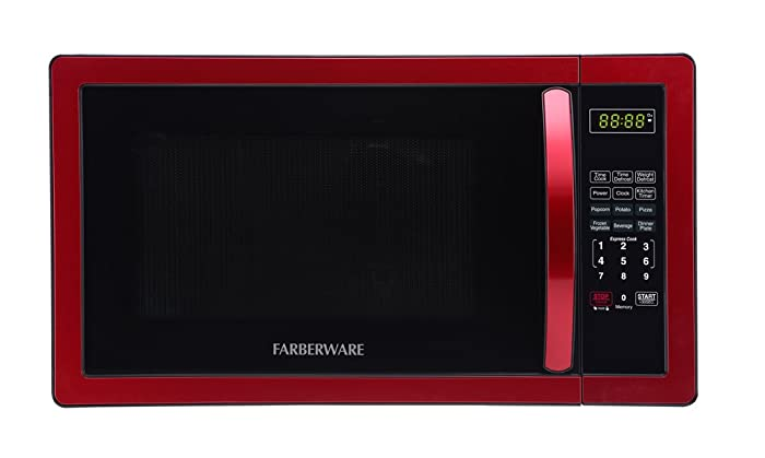 The Best Red Microwave Oven 11 Cu