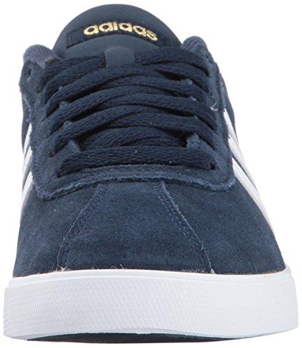 adidas Courtset Navy Womens Collegiate Metallic Gold Sneaker White Womens adidas ftxq1d