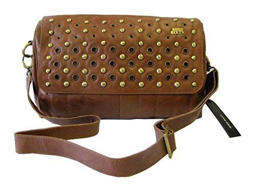2f072b42fd744 Miss Sixty Tasche Damen Ledertasche Schultertasche Roscommon Bag Braun