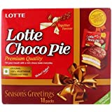 Lotte, Choco Pie, Season's Greetings 18 Packs 504g