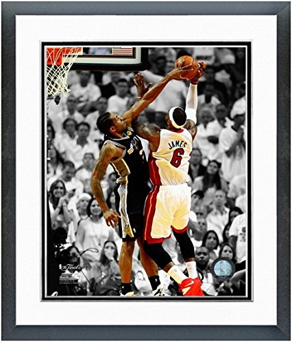 Kawhi Leonard San Antonio Spurs 2014 NBA Finals Game 4 Action Photo (Size: 22.5'' x 26.5'') Framed by NBA