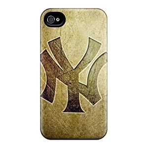 Busttermobile168 Snap On Hard Cases Covers New York Yankees Logo Hd Protector For Iphone 6