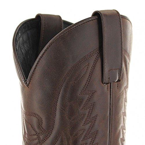 Fb Mode Støvler Støvler Sendra 13170 Chokolade Firence Western Støvler Til Kvinder Og Mænd Brun Cowboy Støvler Chokolade Bamby yPCqKH