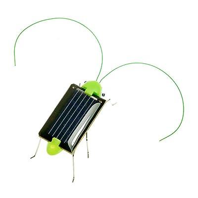 Ndier Energía Solar Mini Toy Grasshopper Educativo Solar Powered Toy 1PC: Juguetes y juegos