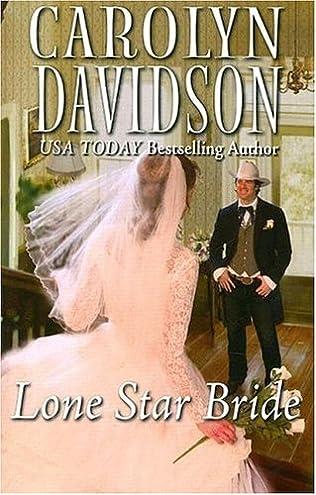 book cover of Lone Star Bride