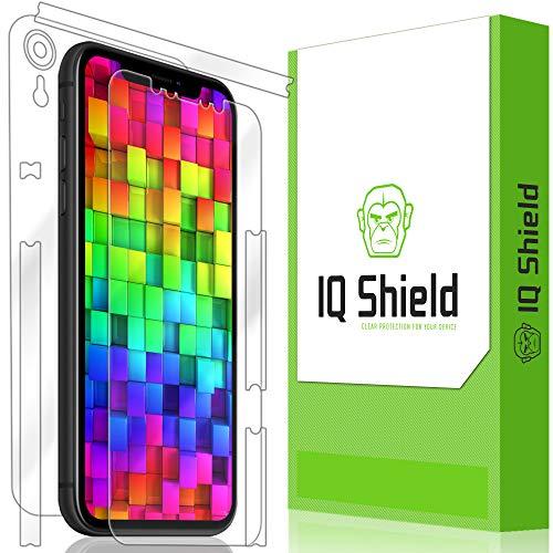 Apple iPhone XR Screen Protector, IQ Shield LiQuidSkin Full Body Skin + Full Coverage Screen Protector for Apple iPhone XR (6.1