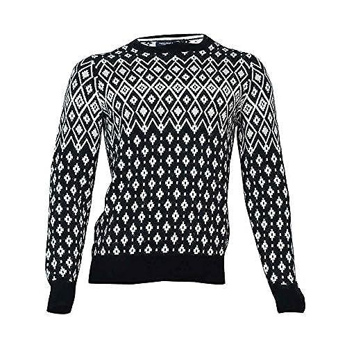 Fair Isle Cotton Sweater: Amazon.com