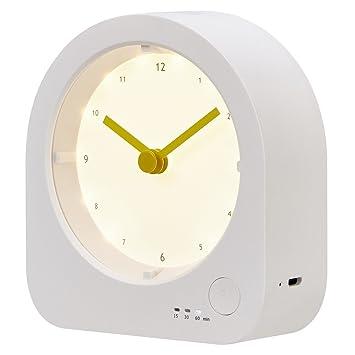rtsu batería reloj de mesa con intensidad regulable LED luz ...