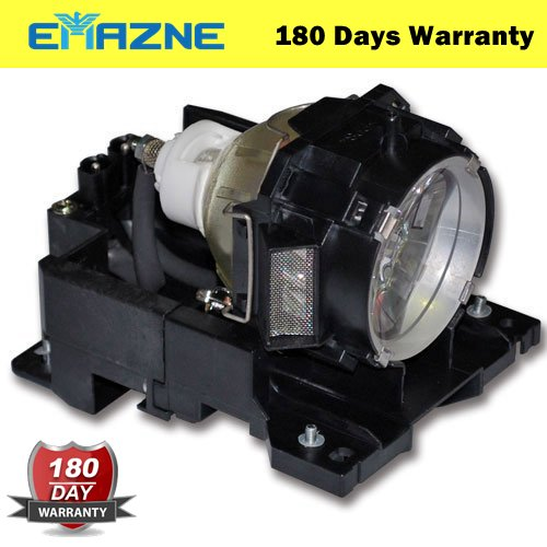 Emazne DT00771/RLC-021 Projector Replacement Compatible Lamp With Housing For Hitachi CP-X505 CPX505 CP-X600 CPX600 CP-X605 CPX605 CP-X608 CP-X608 CPX608 CPX608 HCP-6800X HCP6800X HCP-7000X (Dt00771 Replacement Lamp)