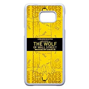 Special Design Cases Samsung Galaxy Note 5 Edge Cell Phone Case White The Wolf of Wall Street Emmqr Durable Rubber Cover
