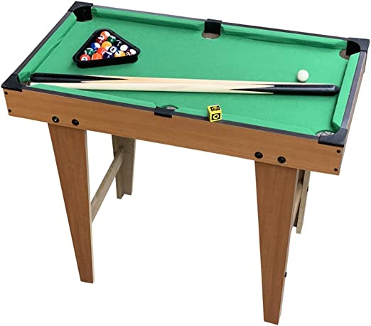 GIGIEroch-toy Juego de Mesa por Mesa De Billar Mesa De Billar Familia Deportes Juego De Mesa Juego De Billar Juegos De Billar El Juego Incluye Pelotas De Juego (Color : Verde, tamaño :