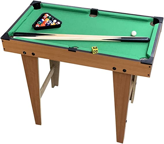 YuYzHanG Mini Mesa De Billar Mesa de Billar Juego de Deportes de Escritorio Billar Juego Set Table Top Pool Game (Color : Green, Size : 60x69x37cm): Amazon.es: Hogar