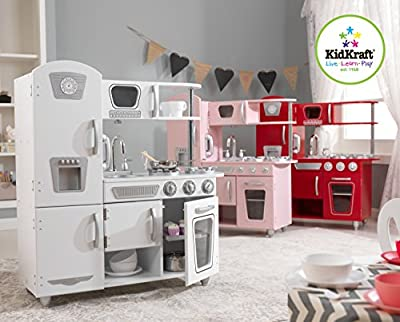 KidKraft 53173 Vintage Kitchen,Red