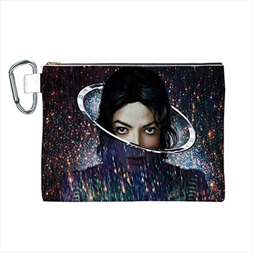 Michael Jackson Makeup (Xcape Michael Jackson Canvas Cosmetic Bag 10