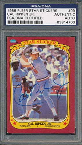 1986 Fleer Autographed Card - 5