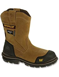 Caterpillar Mens Fabricate Pull On Tough Waterproof Composite Toe