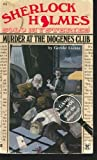 Murder at the Diogenes Club, Gerald Lientz, 0425106063