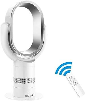 Ventilateur Tour avec T/él/écommande et Ecran Tactile LED Minuteur de 9 Heures et 6 M/ètres T/él/écommande 2A Ventilateur sans Feuilles avec 10 Vitesses Acoolir Ventilateurs sur pied Silencieux
