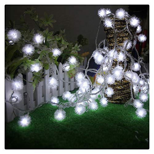 Kanzd Fairy String Light Dandelion Shaped Curtain Lamp