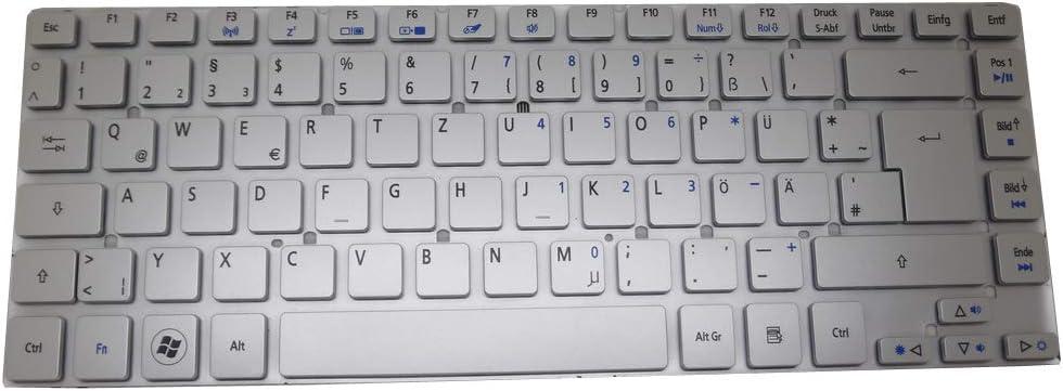 Laptop Keyboard for Acer Aspire V3-431 V3-471 V3-471G V121646CK2 GR AEZQSG00110 German GR Silver NO Frame