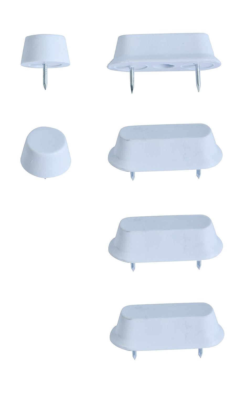 65014 4 No 36/Patin pour abattant de si/ège de WC Entretoise pour lunette de WC
