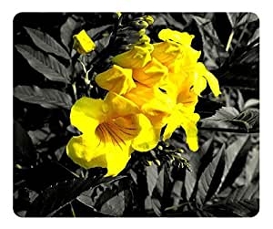 Yellow Flower 6 Mouse Pad - Durable Office Accessory Desktop Laptop MousePad and Gifts Gaming mouse pads