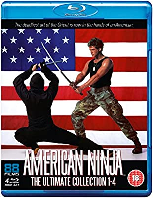 American Ninja 1-4 Collectors Edition Blu-ray Reino Unido ...