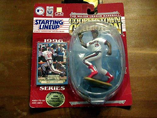 (Rod Carew Minnesota Twins Angels HOF Autographed Signed 1996 Starting Lineup JSA Rare - Authentic Memorabilia)