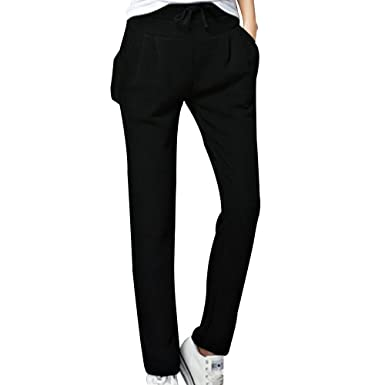 b828cf39a8 OCHENTA Women's Tapered Running Thermal Fleece Pant Sweatpants UK 4-20