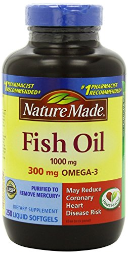 Nature Made Fish Oil 1000 Mg, Value Size, Softgels, 200-Count 51QTXuFps7L