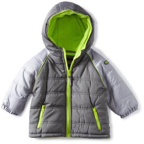 IXtreme Baby Boys' Promo Raglan Colorblocked Puffer Snowsuit