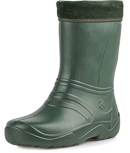 Ladeheid Women's EVA Rubber Boots KL033 Olive
