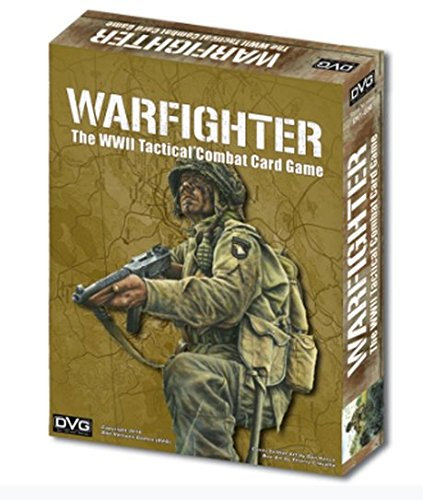 DVG: Warfighter, World War II Tactical Combat Card Game (Gears Of War Board Game Mission Pack)