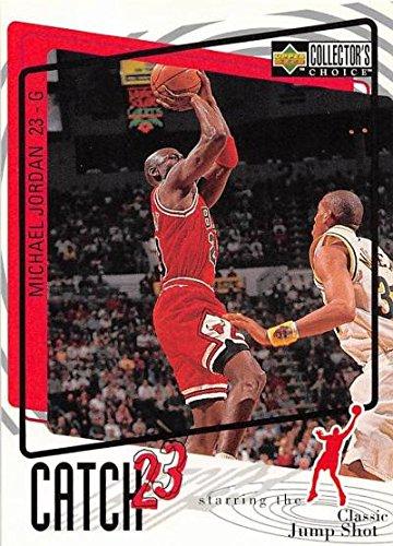 e779965d14e34d Michael Jordan basketball card (Chicago Bulls) 1997 Upper Deck Catch 23   192 Classic