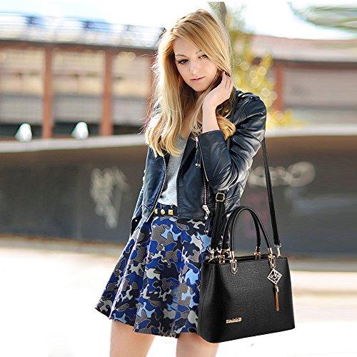 Sale Purse Black Women Ladies for Pink Handbag amp;Doris Hot Tote Work Fashion Bag Nicole Shoulder New Crossbody 1qfxpF