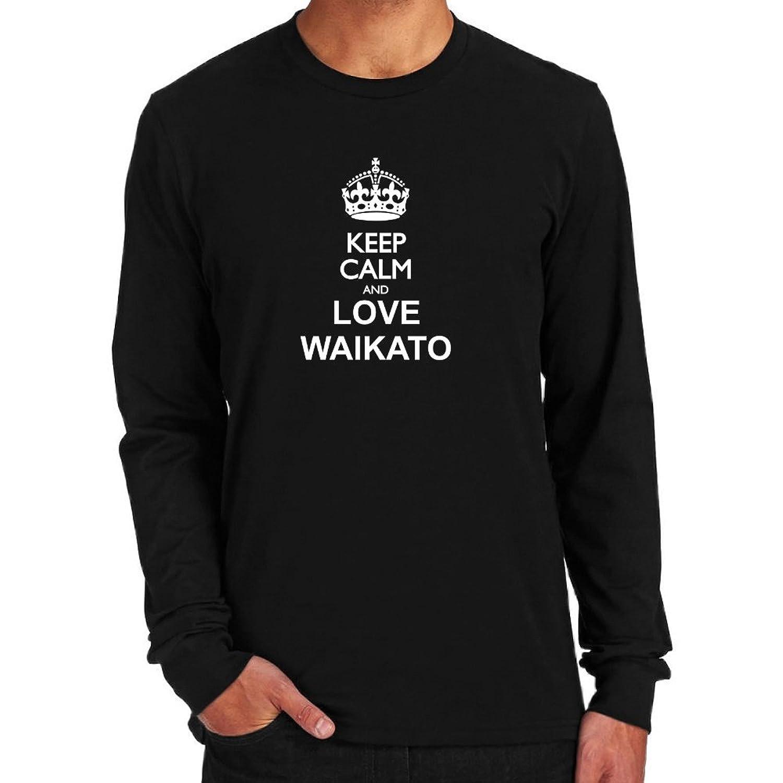 Keep calm and love Waikato Long Sleeve T-Shirt