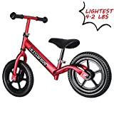 The Lightest Balance Bike for Toddler with Pedal Less for Training Ages 1.5 to 5 Years 4.2 lbs