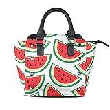 FANTAZIO coach handbags Fresh Watermelon Painting for party/Shopping