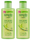 simple Simple Kind To Skin Soothing Facial Toner, 6.7 Ounce (200ml) (Pack of 2)